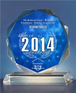 Best of Berkeley 2014 Acupuncturist